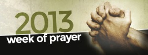 2013 Week of Prayer header