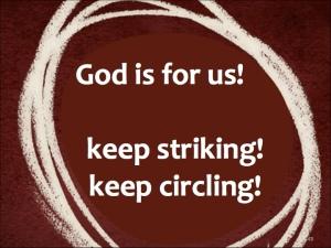 Keep striking