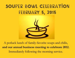 Souper Bowl Celebration