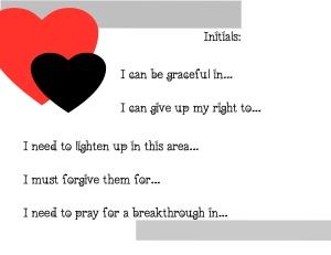 Love is… worksheet 2