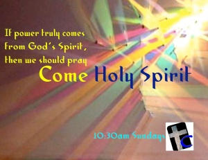 Come Holy Spirit [web]