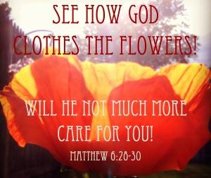 God & Flowers & You