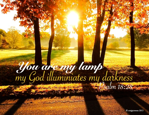 You are my lamp