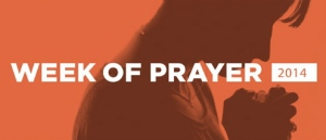 Week of prayer [2014]