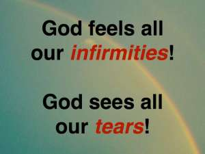 God feels & sees
