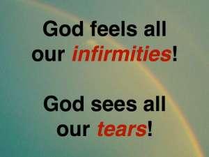 God feels & sees