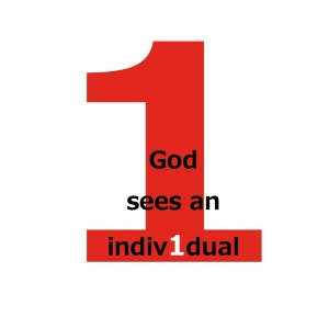 God sees an individual