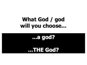 What God:god