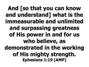 Ephesians 1-19