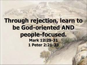 God-oriented & People-focused