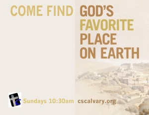 God's Favorite Place On Earth [web]