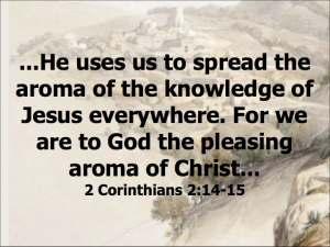 Christ's aroma
