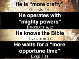 Spiritual warfare.1