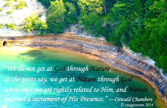 Nature is a Sacrament
