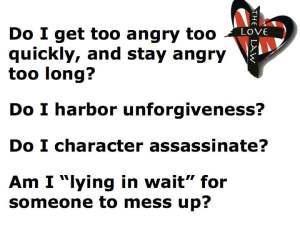 Murderer's checklist