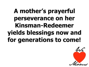 Prayerful perseverance