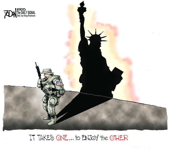 Soldiers and liberty
