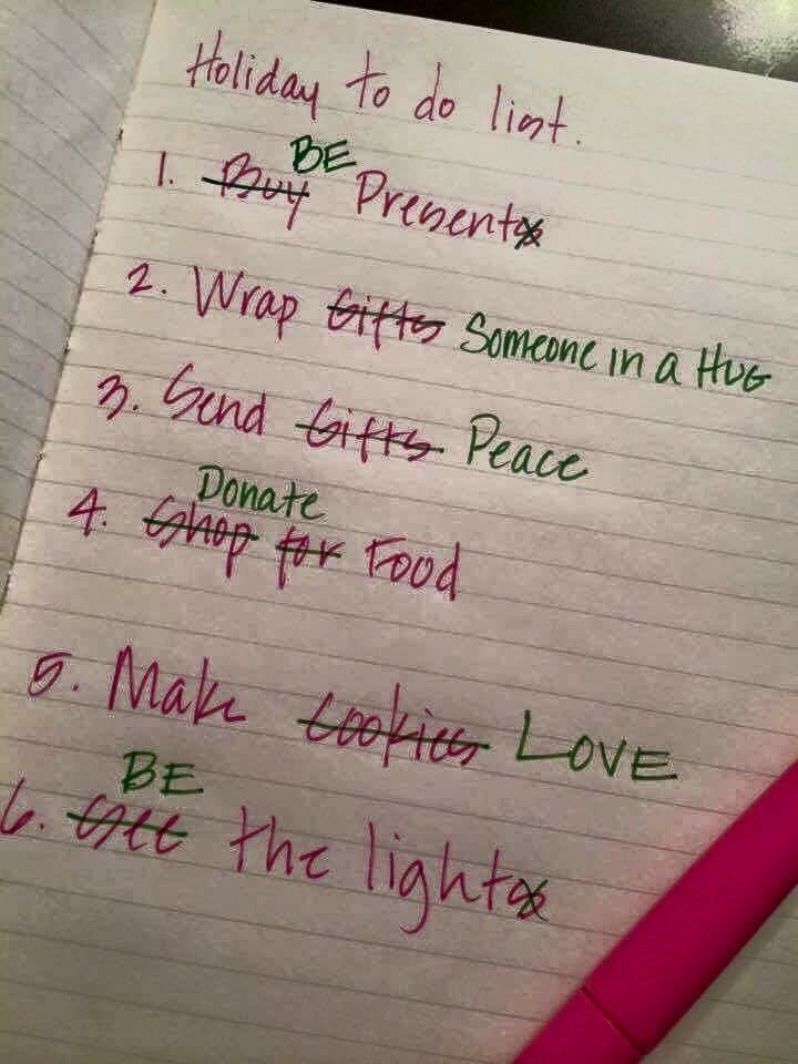 Holiday To Do List Craig T Owens
