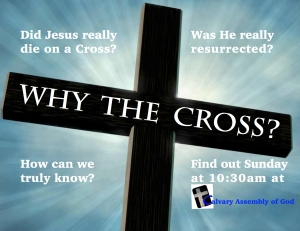 Why The Cross