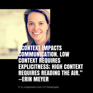 Erin Meyer - context