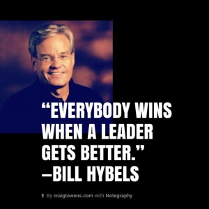 Hybels - everybody wins