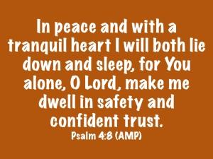 Psalm 4.8