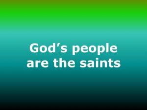 gods-people-are-the-saints