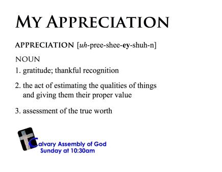 my-appreciation