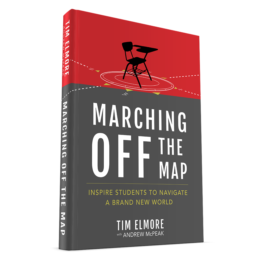 Marching off the map book review craig t owens in my mind tim elmore stands head and shoulders above the rest in giving the most meaningful insights into the minds of todays youth gumiabroncs Image collections