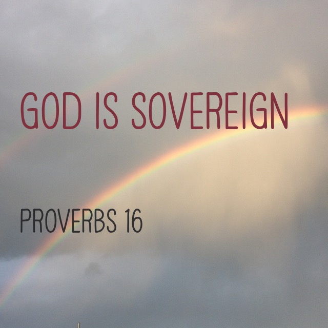 Saturday In The Proverbs—God Is Sovereign (Proverbs 16